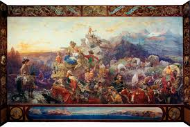 the new jacksonian blog jacksonian nationalism and american westward the course of empire takes its way by emanuel leutze 1862 a classic allegory of jacksonian america and one of the most ambitious statements of