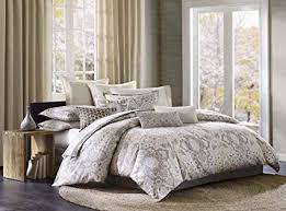 gray paisley bedding.  Bedding Echo Design Odyssey King Size Bed Comforter Set  Grey Paisley U2013 4 Pieces  Bedding In Gray Y