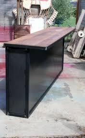 Comptoir Bar Sur Mesure Industriel Bar Comptoir De Bar Meuble