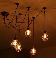 Lamp Decoration Design Decorations Cool Style Industrial Silver Pendant Light Fixtures 90