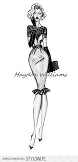 Hayden Williams Fashion Illustrations Na Stylowipl