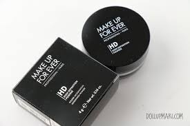 make up for ever high definition microfinish powder review
