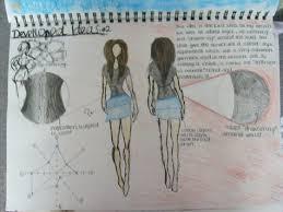 Textiles coursework