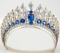 Tiara Design Ideas Sapphire Parure Tiara It Was Ordered In 1881 From Vita