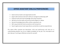 Office Skills Resume Examples Skills Section Of Resume Examples