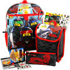 Lego Ninjago Backpack and Lunch Box Bundle with Zip Case, Wallet, and  Stickers- Buy Online in Angola at angola.desertcart.com. ProductId :  44938900.