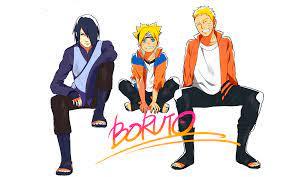 Naruto,Sasuke and Boruto HD Wallpaper | Hintergrund