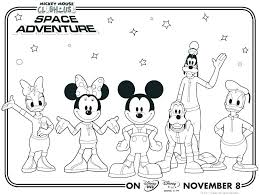 mickey mouse and friends coloring pages to print mickey mouse and friends coloring pages to print