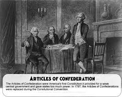 weaknesses of the articles of confederation  the articles of confederation