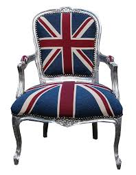 Cool Union Jack Chair with Vintage Style Union Jack Throne Chair Made With  Love Designs