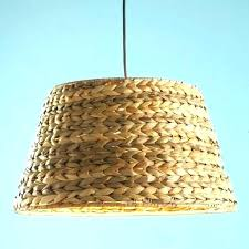 seagrass lamp shade pendant light lampshade braided shade lamp shades by of woven black diy seagrass