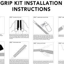 Golf Grip Size Chart Winn Winn Dri Tac Wrap 9 Piece Golf Grip Bundle