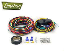 vw karmann ghia wiring looms vw wiring loom fuse box t1 beetle buggy bug baja electrical engine harness