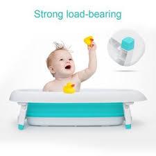 baby infant inflatable bath tub seat mommy helper kid toddler portable bathtub