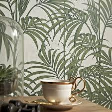 Behang Bladeren Groen Latest Bladeren Behang Woonkamer Hoge