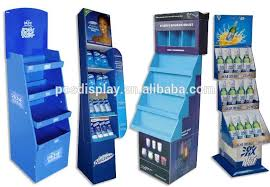 Free Standing Retail Display Units Free Standing Floor Cardboard Cosmetic Display Unit For Skin Care 22