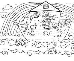 Free Bible Coloring Pages For Preschoolers At Preschool