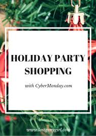 Holiday Party Shopping With Cybermonday Com Gen Y Girl