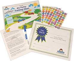 Potty Training Chart Stickers By Potty Scotty For Boys