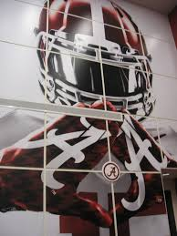 >06 november 2013 the daily bama blog wall art in the alabama team meeting room