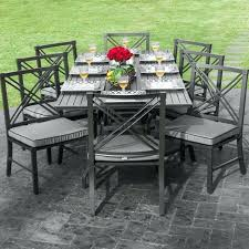 glass patio table tempered glass patio table modern outdoor dining table small space patio furniture round glass patio table 7 piece dining