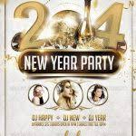 New Year Party Free Psd Flyer Template 50 Super Cool New Year Party ...