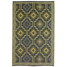 lhasa empire yellow gray outdoor rug