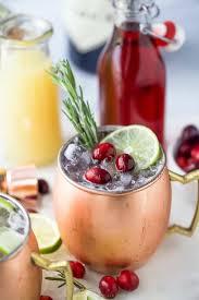 cranberry gin moscow mule recipe the
