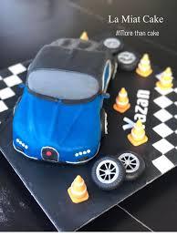Blue bugatti veyron personalised edible icing. La Miat Cake Bugatti Chiron Car Birthday Cake Facebook