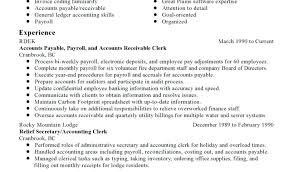 Sample Accounts Receivable Resume X Accounts Receivable Clerk Resume