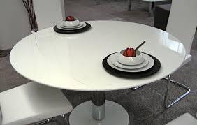 stunning modern white round dining table round dining table set white dining room table plisset glass