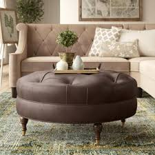 Image Rectangular Ottoman Quickview Wayfair Leather Coffee Table Ottoman Wayfair