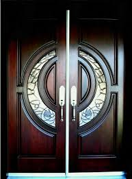 wooden main double door designs indian style front entrance for houses awesome beveled glass home entry