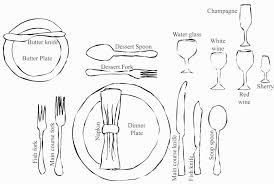 Table Setting In French Proper Table Setting Pictures Crowdsmachinecom