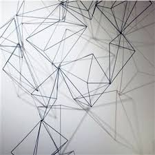 wire prism wall art on wire wall decor diy with wire prism wall art pinterest walls wall decor and wall decorations
