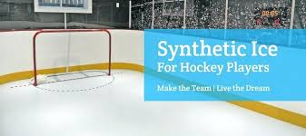 hockey shooting pad diy synthetic ice rinks for hockey players