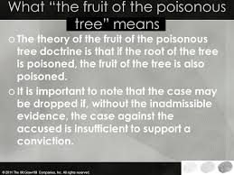Truth BiblePresbysterian ChurchFruit Of Poisonous Tree Doctrine Definition
