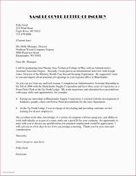 Letter To Enquire About Job Opportunities Best Of 20 Part