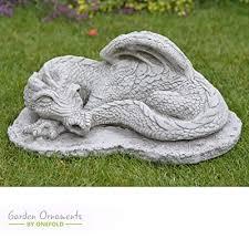 hand cast stone garden ornament statue