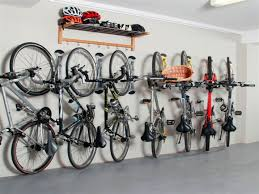Image of: Bicycle Garage Storage Racks