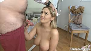 Teen with great boobs gets her pussy fucked by huge doctor s pec.
