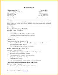 Resume Objectives For College Students Examples Inspirational
