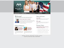Download Free Html Template Political Party Free Html