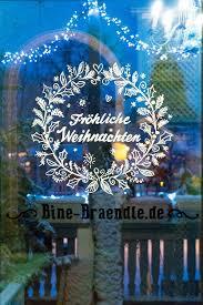 Winter Deko Weihnachten Fenster Fensterbilder Weihnachten
