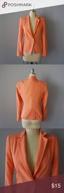 Light Orange Blazer Zara Light Orange Blazer Light Orange Blazer From Zara In