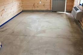 acid stain concrete floor floors maintenance diy basement stamped patios