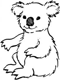 Small Picture Koala Coloring Pages Australian Koala Bear Coloring Page For Koala