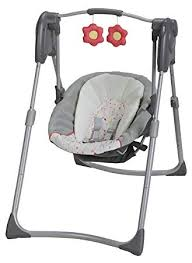 Amazon.com : Graco Slim Spaces Compact Baby Swing, Alma : Baby