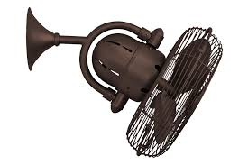 amusing dark bronze wall mounted fans with dark bronze blade fans vintage design