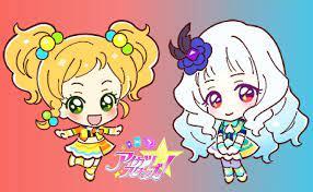 Lily and Yuzu chibi